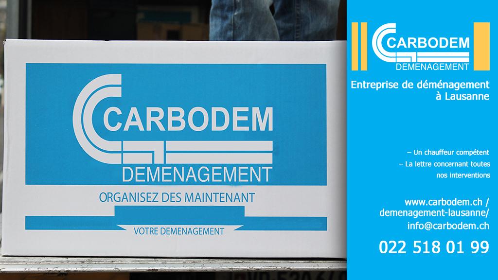 Comment bien organiser son déménagement│ CARBODEM – L'entreprise de déménagement à Lausanne