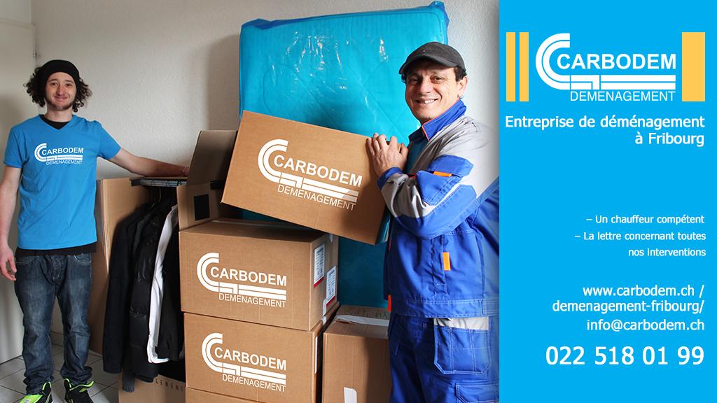 Comment établir le budget pour son déménagement│ CARBODEM – L'entreprise de Déménagement à Fribourg