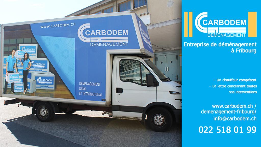 Comment choisir le bon véhicule de déménagement│ CARBODEM – L'entreprise de déménagement à Fribourg
